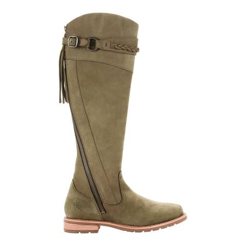 Ariat Green Olive Alora Knee High Boots