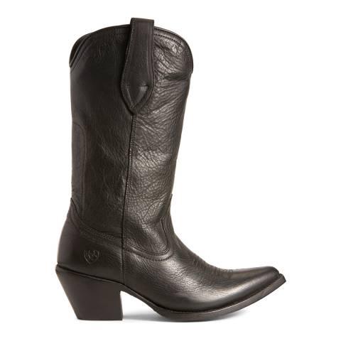 Ariat Black Josefina Caviar Western Boots