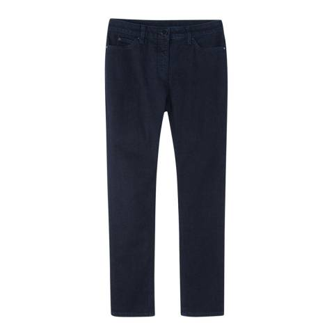 Pure Collection Indigo Duchy Cropped Stretch Jeans