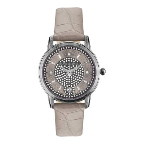 Chrono Diamond Women's White Nymphe Watch