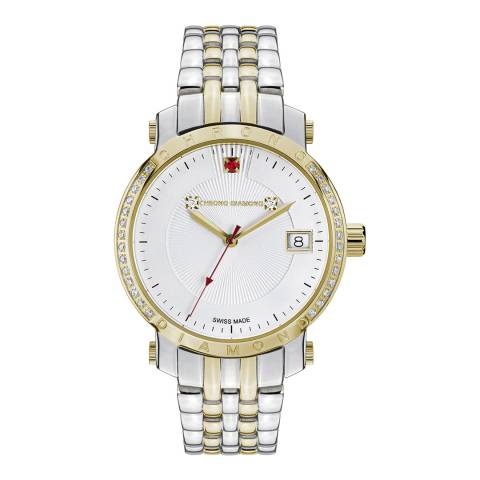 Chrono Diamond Women's Silver/Gold Nesta Watch