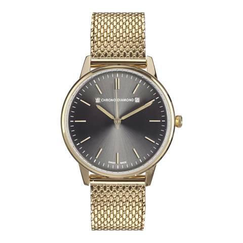 Chrono Diamond Women's Gold Zelya Watch