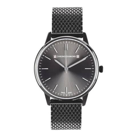 Chrono Diamond Women's Grey Zelya Watch