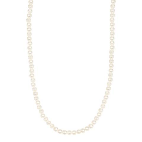 Liv Oliver 18K Rose Gold Pearl Classic Necklace