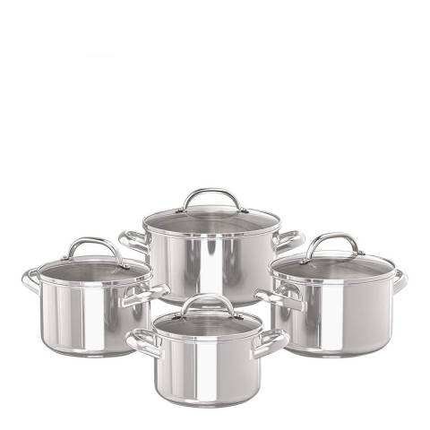 Prestige 4-Piece Stockpot Set