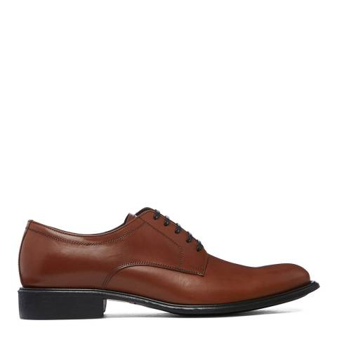 Dolce & Gabbana Tan Leather Formal Brogues