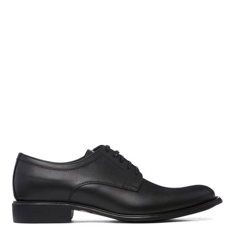 Dolce & Gabbana Grained Black Leather Brogues