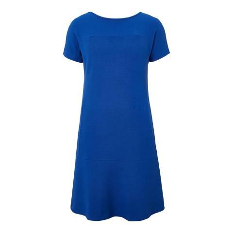 Winser London Royal Blue Scarlett Shift Dress