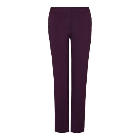 Winser London Aubergine Miracle Slim Stretch Trousers