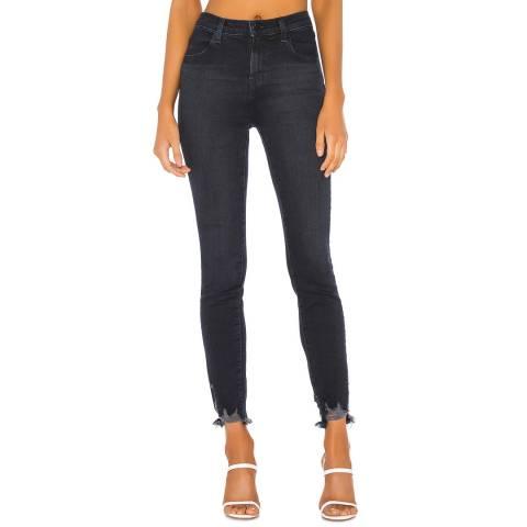J Brand Dark Denim Alana High Rise Skinny Stretch Jeans