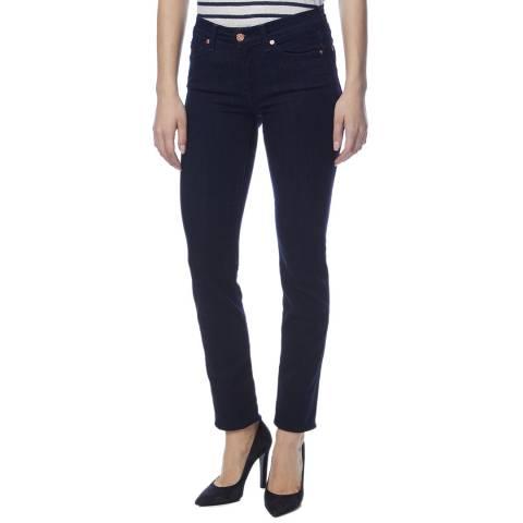 7 For All Mankind Indigo Roxanne Slim Stretch Jeans
