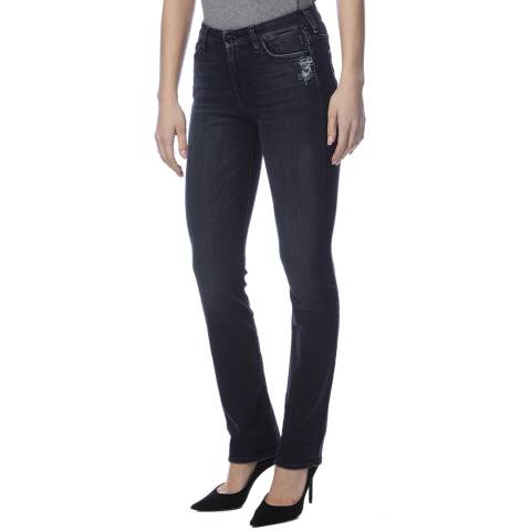 7 For All Mankind Indigo Kimmie Straight Stretch Jeans