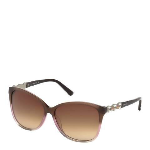 SWAROVSKI Women's Brown Swarovski Sunglasses 60mm