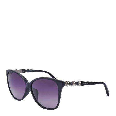 SWAROVSKI Women's Purple Swarovski Sunglasses 60mm