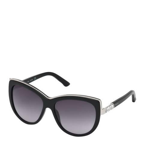 SWAROVSKI Women's Black Swarovski Sunglasses 58mm