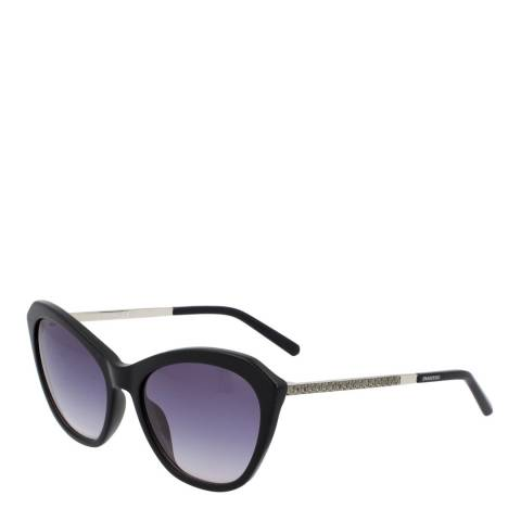 SWAROVSKI Women's Black Swarovski Sunglasses 56mm
