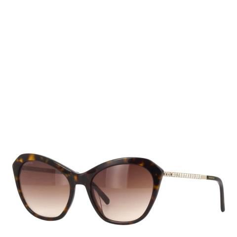 SWAROVSKI Women's Brown Swarovski Sunglasses 56mm