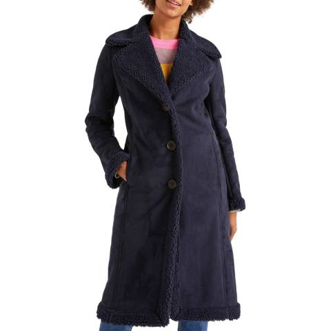 Boden Bell Teddy Lined Coat