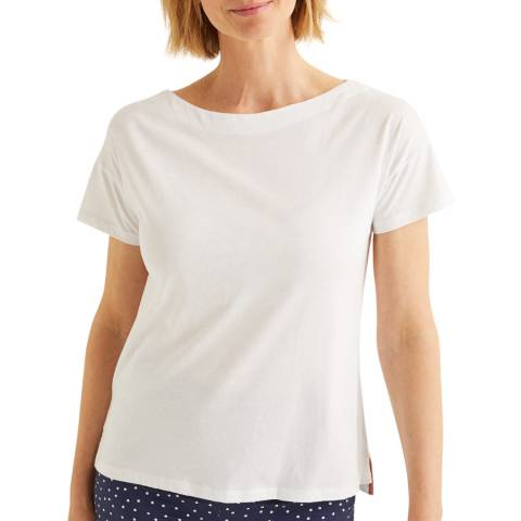 Boden Supersoft Slash Neck Tee