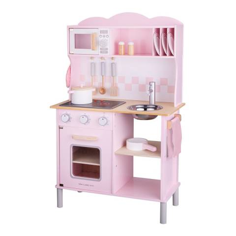 New Classic Toys Kitchenette - Modern - Electric Cooking - Pink