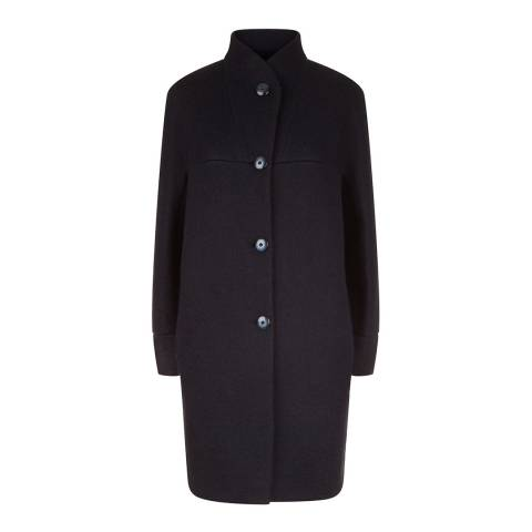 Fenn Wright Manson Navy Polly Petite Coat
