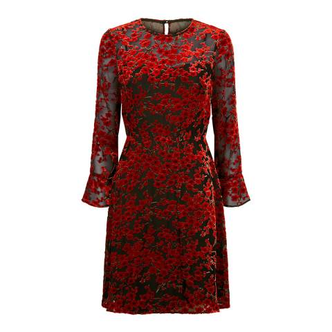 Fenn Wright Manson Red Nora Petite Dress