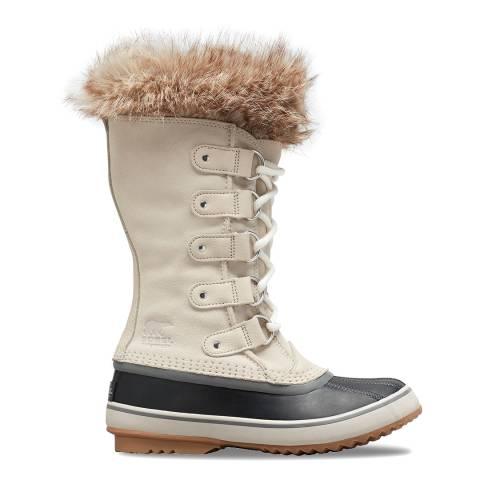 Sorel Beige Joan of Arctic Snow Boots