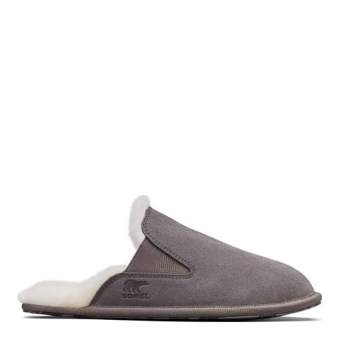 Sorel Grey Hadley Quarry Premium Slippers