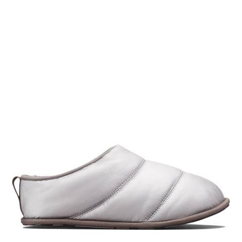 Sorel Pure Silver Hadley Metallic Slippers