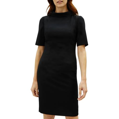 Jaeger Black Tailored Dress