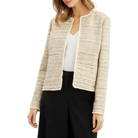 Jaeger Gold Textured Lurex Jacket