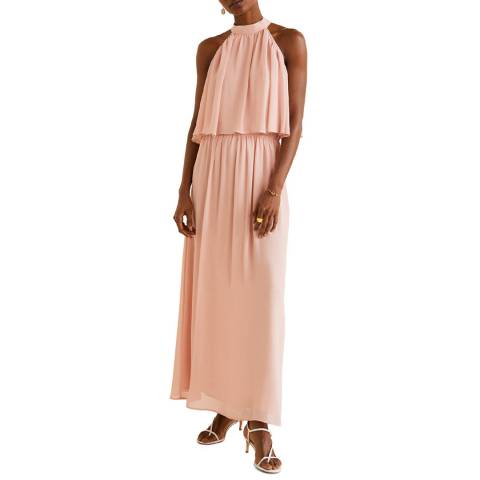 Mango Pastel Pink Long Dress