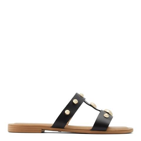 Aldo Black Nemoca Flat Sandal