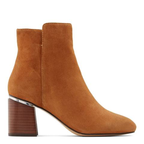 Aldo Brown Suede Gwulia Ankle Boot