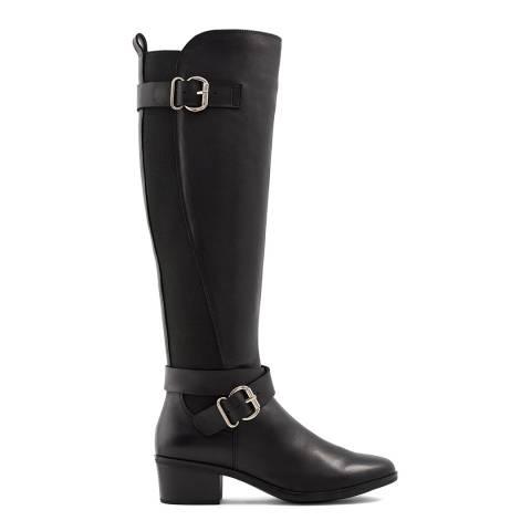 Aldo Black Elvaralith Knee High Boot