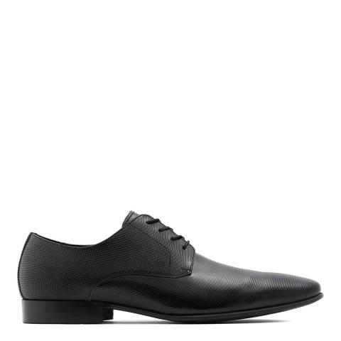 Aldo Black Embossed Zolian Oxford Shoe