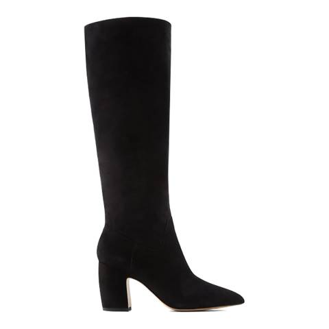 Aldo Black Suede Yalardy Knee High Boot
