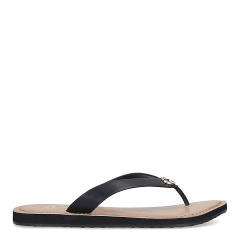 Aldo Black Lascala Flat Sandal