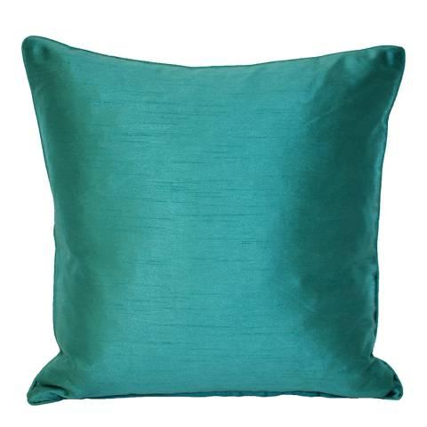 Riva Home Teal Fiji Filled Cushion, 43x43cm
