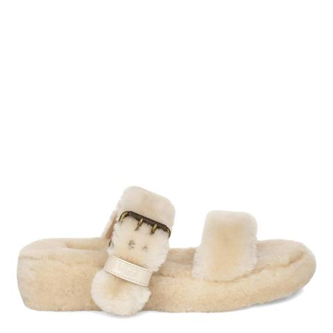 UGG Natural Fuzz Yeah Slippers