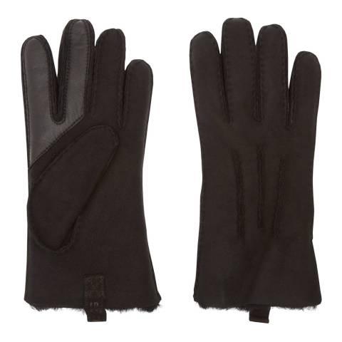 UGG Black Sheepskin 3 Point Glove