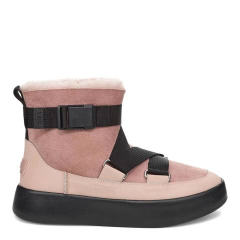 UGG Pink Classic Boom Buckle Boot