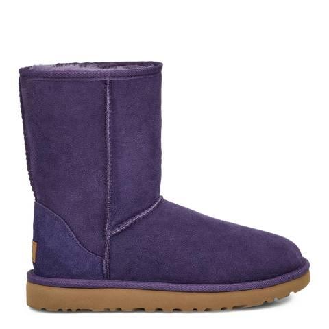 UGG Purple Classic Short II Boots