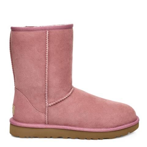 UGG Pink Classic Short II Boot