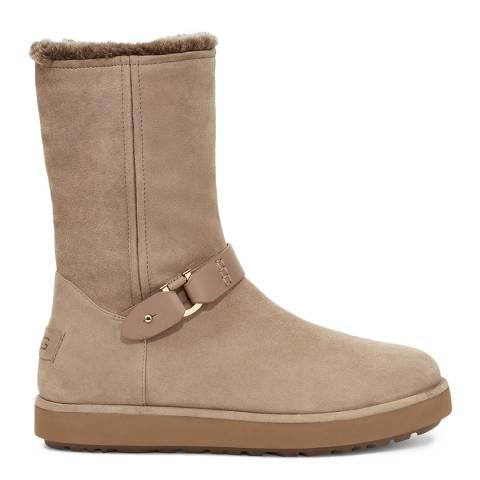 UGG Tan Classic Berge Short Boot