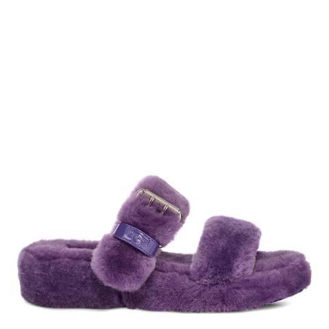 UGG Purple Fuzz Yeah Slippers