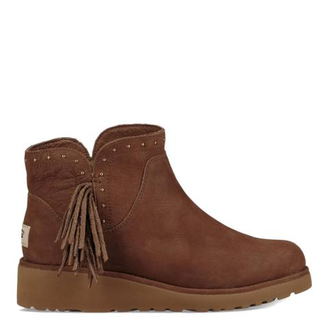 UGG Dark Brown Cindy Boot