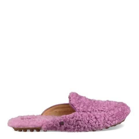 UGG Pink Lane Fluff Loafer
