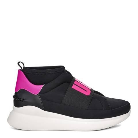 UGG Black/Pink Neutra Neon Sneakers