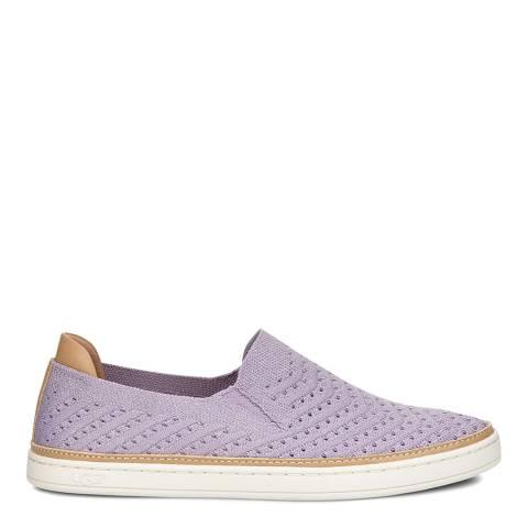 UGG Violet Sammy Metallic Chevron Sneaker